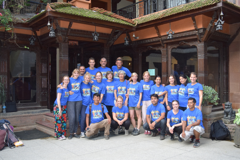 30 Handen Nepal 2017 Dag 21
